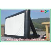 Wholesale Projection Cloth Inflatable TV Screen 6 x 3m CE / SGS Certificate from china suppliers