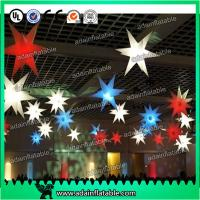 Wholesale Beautiful 210T Polyester Cloth LED Lighting Inflatable Star a from china suppliers