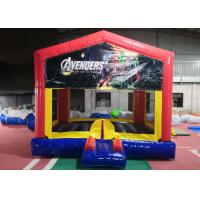 Commercial Durable Adult Size Bounce House Heavy Duty Lead Free Thread