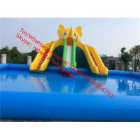 Quality  Inflatable Water Slide Inflatable Slide Pool Slide Water Park  Inflatable Games for sale