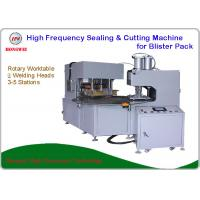 Buy cheap HF Blister Pack Sealing & Cutting Machine With High Efficiency Rotary Worktable from wholesalers