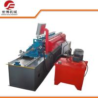 Wholesale U Purlin Drywall Stud Roll Forming Machine Fully Automatic Control With No Stop Cutting Way from china suppliers