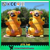 Wholesale 3m Advertising Inflatable Mouse Oxford Event Inflatable Rat Cartoon For Parade from china suppliers