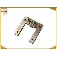 Quality U Shaped Antique Brass Metal Clasp Lock Accessories For Bags Macking for sale