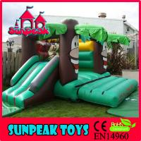 Wholesale COM-061 Green Forest Air Bouncer Inflatable Trampoline from china suppliers