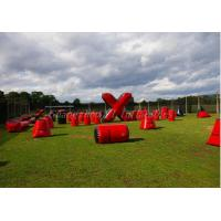Wholesale Wonderful Inflatable Paintball Bunkers Field , Paintball Blow Up Bunkers from china suppliers