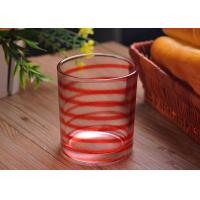 Quality Personalized Decorative Glassware Glass Candle Containers 400ml for sale