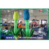 Wholesale Oxford Cloth Custom Inflatable Products , LED Inflatable Double Flower For Stage Decoration from china suppliers