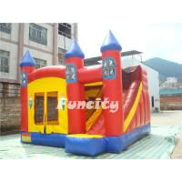 Wholesale Customizable Size Pvc Inflatable Bouncer House With Slide For Kids Fun from china suppliers