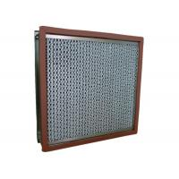 Quality Aluminum Foil High Temp Hepa Filter Separator For Cleaning Room for sale