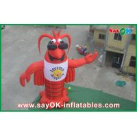 Wholesale Lobster Inflatable Character , Customized Moving Inflatable Mascot from china suppliers