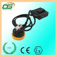 Wholesale Mini 3.7 V LED Mining Cap Lamp 6.5Ah 10000 Lux With Low Power Indication from china suppliers