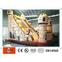 Wholesale Entertainment safety inflatable water slides , inflatable pool slides for aqua water park from china suppliers