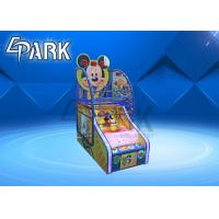 Metal Cabinet Arcade Basketball Game Machine For Entertainment Center