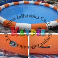Wholesale Round Inflatable swimming pool,water pool,airtight pvc pool,outdoor indoor pool KPL005 from china suppliers