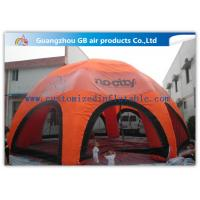 China Orange Inflatable Spider Tent With 8 Legs Weather - Resistant ODM / OEM on sale
