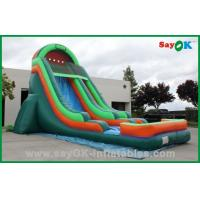 Wholesale Durable PVC Inflatable Bouncer Slide , Inflatable Water Slide Car Model from china suppliers