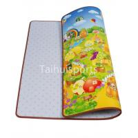China Kids Cushioned Playmat Soundproofing / Cushioned Baby Play Mat Non Toxic on sale