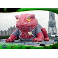 Wholesale Giant Inflatable Outdoor Toys Cartoon Red Toad For Entertainment 6m Height from china suppliers