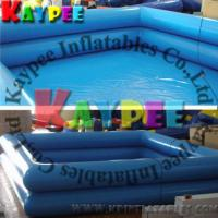 Wholesale Square Inflatable swimming pool,double tubes pvc pool,airtight outdoor indoor pool KPL004 from china suppliers
