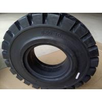 Wholesale LK301 Patten 6.50 10 Solid Forklift Tires , Solid Rubber Tires For Forklifts from china suppliers