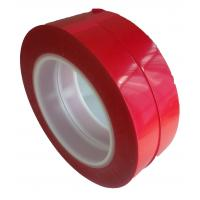 Wholesale 75um Thickness 55M Film Splicing Tape Red  Base Material For Label Printing from china suppliers