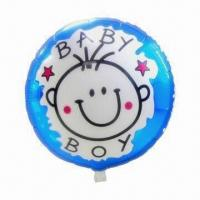 Wholesale Birthday Baby Foil Balloon for Party Use, Measures 18 Inches, Customized Orders are Accepted from china suppliers
