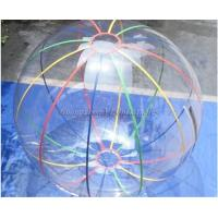 Quality 2m Strips Germany Zips Water Rolling Ball For Inflatable Backyard Water Park for sale