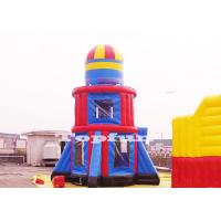 China Customize 10m Tall Rocket Inflatable Jumping Castle Bouncer Tower Outdoor Play on sale