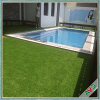 Wholesale Recyclable Garden Artificial Grass With 4 / 3 Tone Color 16800s / Sqm from china suppliers