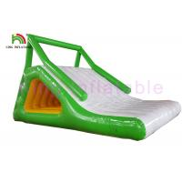 Wholesale Fire Resistant 0.9mm PVC Tarpaulin Blow Up Water Toy / Aqua Wet Slide for Water Park from china suppliers