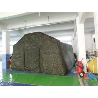 China Outdoor Camping Inflatable Tent , Inflatable Military Tent For Camping on sale