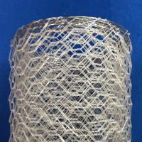 Wholesale Polyster Hexagonal Chicken Wire Netting for River / Gabion Wire Mesh from china suppliers