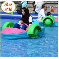 Wholesale Custom One Person Kids Paddle Boat For Pond , Engineering Plastic Material from china suppliers