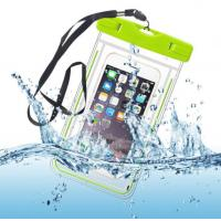 Wholesale Water-Resistant Phone Pouch Water-Tight Dry Bag for Cell Phone with Dule-Sides Transparent Windows from china suppliers