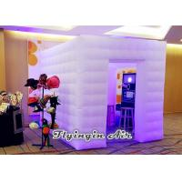 Wholesale Inflatable Cube Photo Booth with Led Lights for Party Decoration from china suppliers