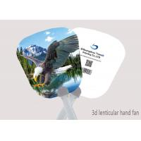 Wholesale 16x17cm Hand Fan 3D Lenticular Printing Service 3D Deep For Summer Season from china suppliers