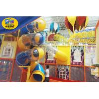 Wholesale Small Playground Equipment Slides , Amusement Parks Indoor Kids Play Slide from china suppliers