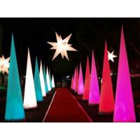 China LED illuminated Glowing Horn Lamp Inflatable Lighting Product Party Decoration on sale