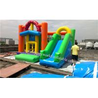 Wholesale cheap bounce houses , inflatable bounce , bouncy castle with slide combo from china suppliers