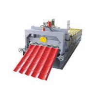Wholesale Circle Arc Glazed Tile Roll Forming Machine , PPGI Roofing Sheets Machine from china suppliers