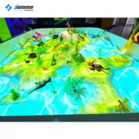 Wholesale 1.2x1.6m Interactive Projection Games Magic Sand Table Game For Children from china suppliers
