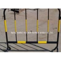 Quality Flexible Green Portable Outdoor Fencing Metal Fence Panels With Mobile Installation for sale