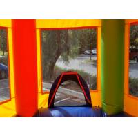Quality Backyard Moonwalk 5 In 1 Combo Bounce House Four Suture Technology for sale