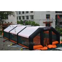 Wholesale 210D PVC Coated Nylon Inflatable Paintball Tent / Paintball Arena With Air Blowers from china suppliers