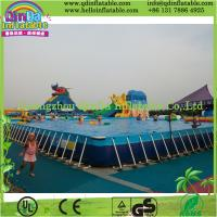 Wholesale Outdoor Intex Metal Frame Playground Swimming Above Ground Pool from china suppliers