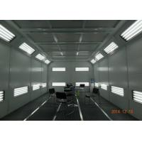 China Coated Panel Car Spray Booth Air Flow Electric Controlled With Heat Recovery System on sale