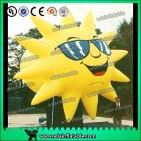 Wholesale Customized Inflatable Sun Replica Cartoon For Sunglasses Advertising from china suppliers