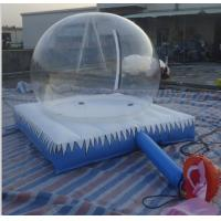 China Eco-friendly Inflatable Bubble Tent / customized inflatable lawn tent bubble on sale