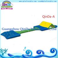 Buy cheap 0.9MM PVC tarpaulin inflatable commercial water park toys/inflatable aqua park from wholesalers